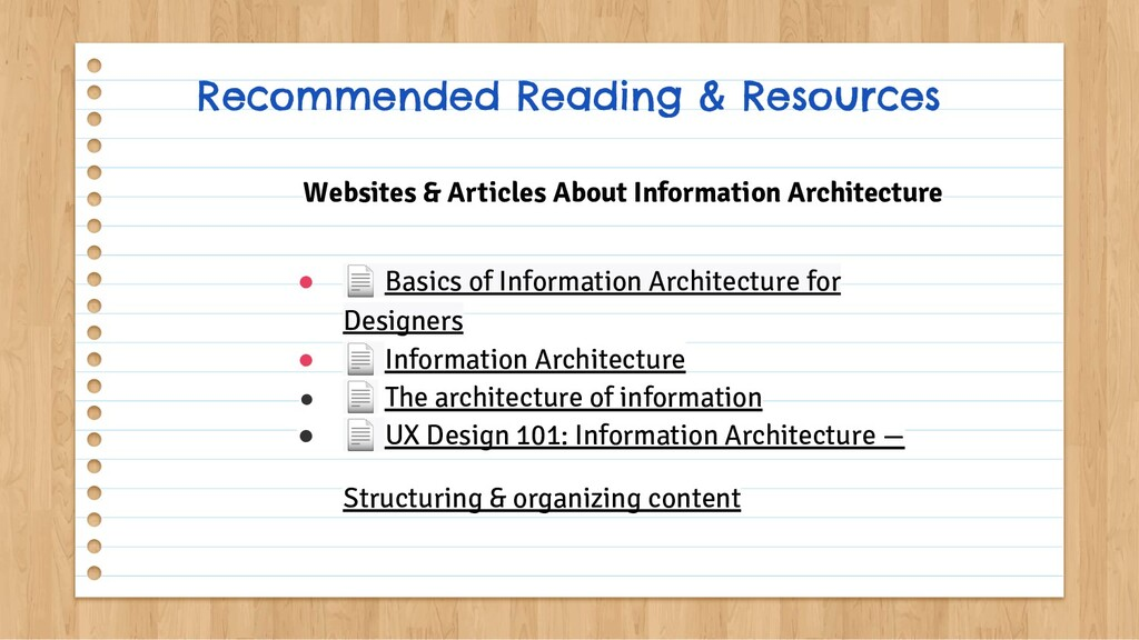 ● 📄 Basics of Information Architecture for Desi...