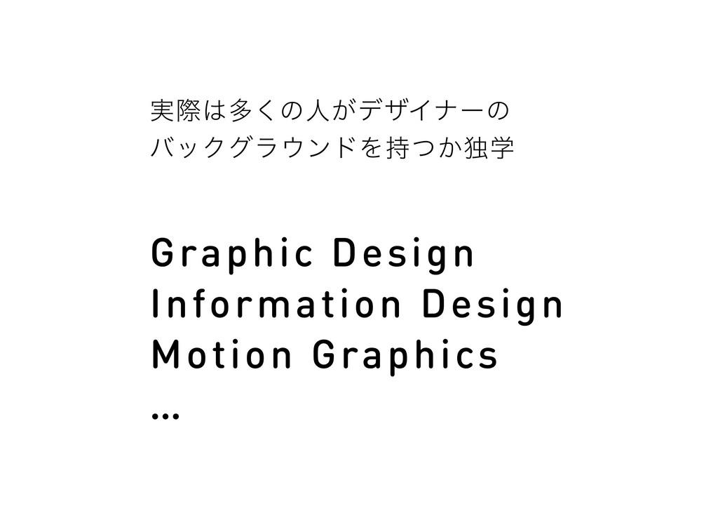 Graphic Design Information Design Motion Graphi...