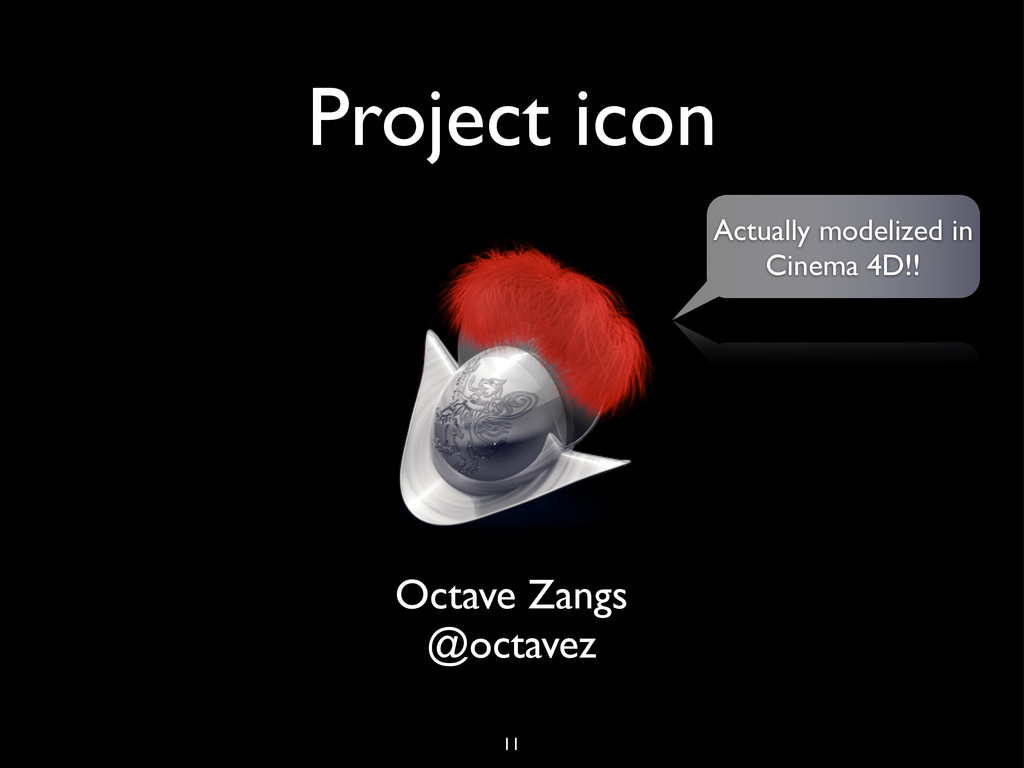 Project icon Octave Zangs @octavez Actually mod...