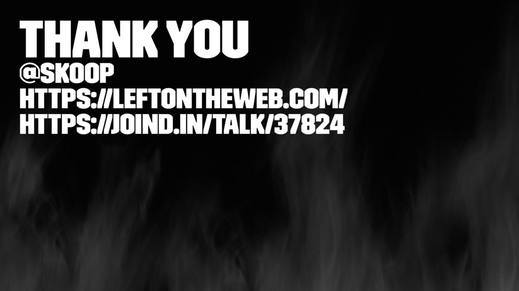 Thank you @skoop https://leftontheweb.com/ http...