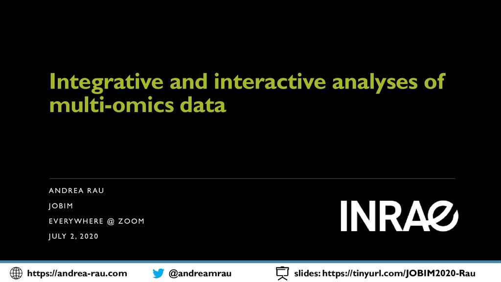 Integrative and interactive analyses of multi-o...