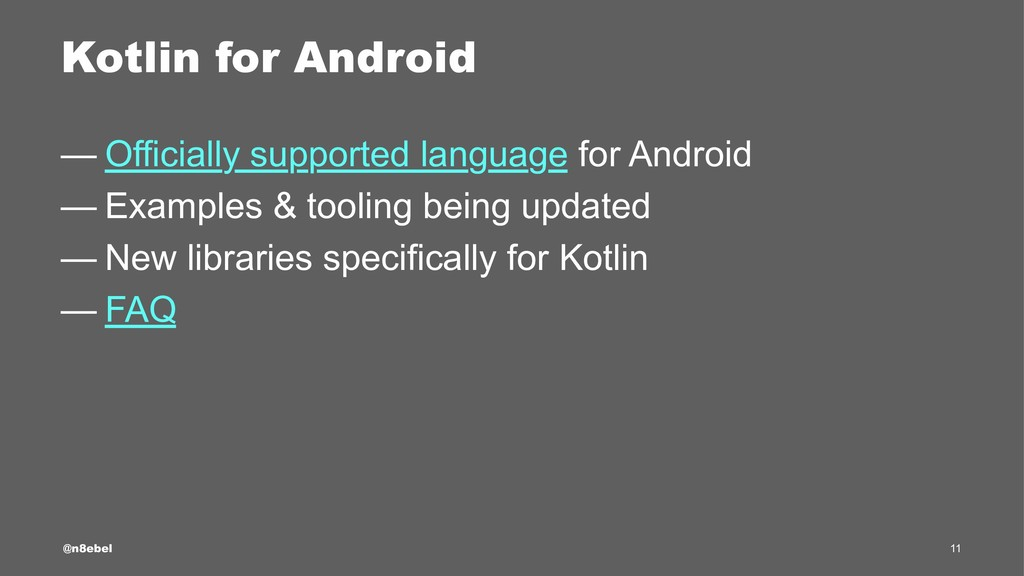 Kotlin for Android — Officially supported langu...