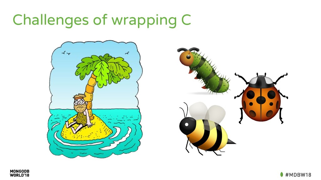 Challenges of wrapping C