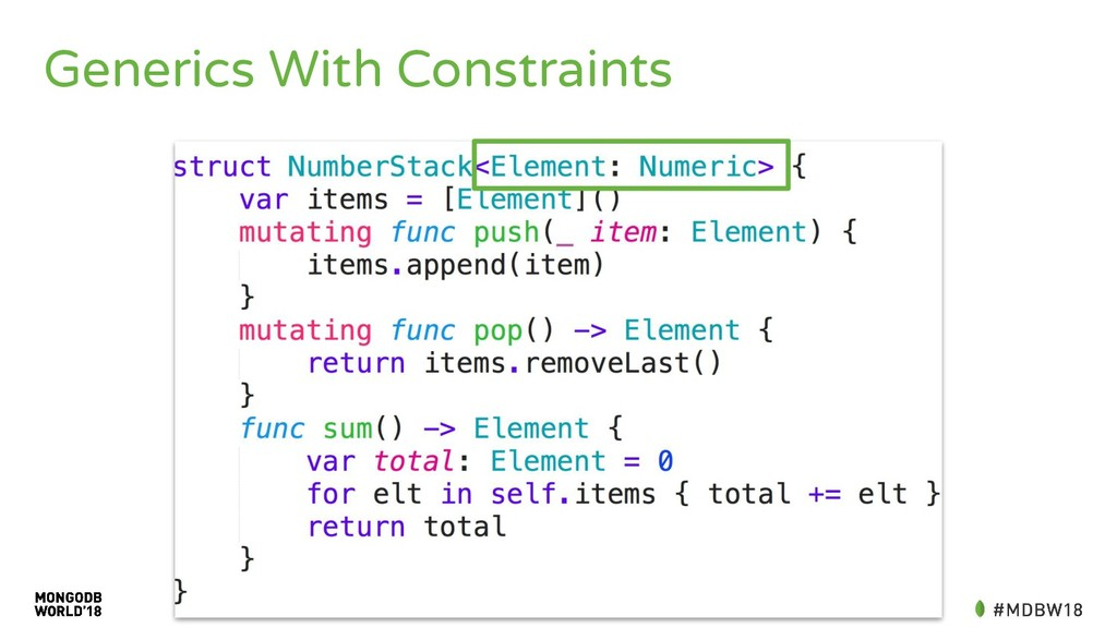 Generics With Constraints
