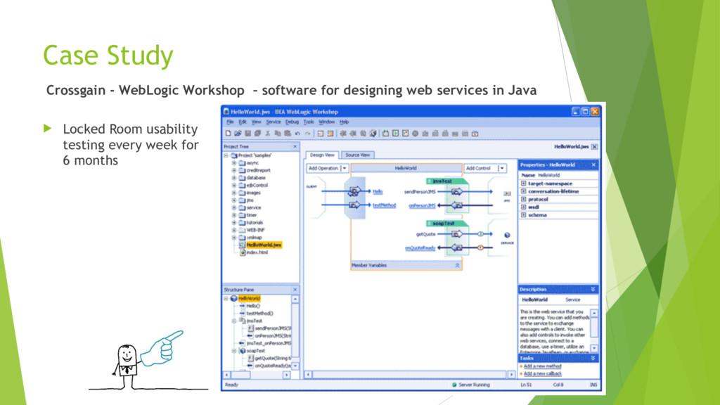Case Study Crossgain - WebLogic Workshop – soft...