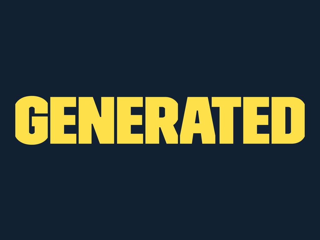 Generated