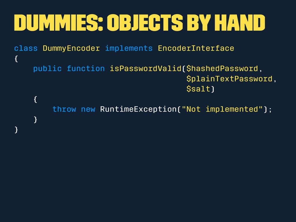 Dummies: Objects by hand class DummyEncoder imp...
