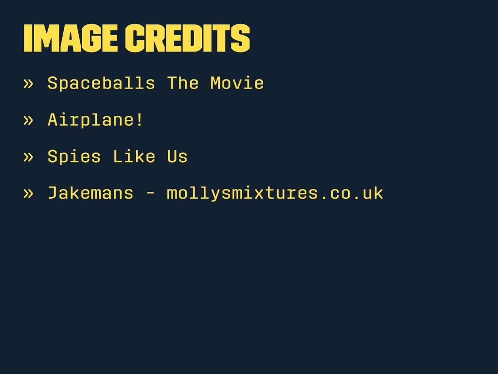 Image credits » Spaceballs The Movie » Airplane...