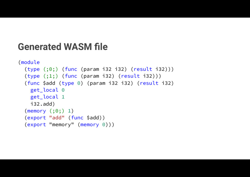Generated WASM file NPEVMF  UZQF   GVOD...