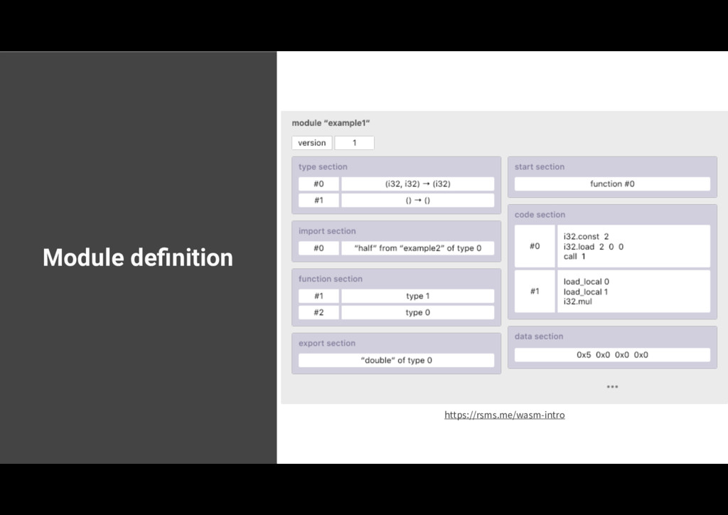 Module definition https://rsms.me/wasm-intro