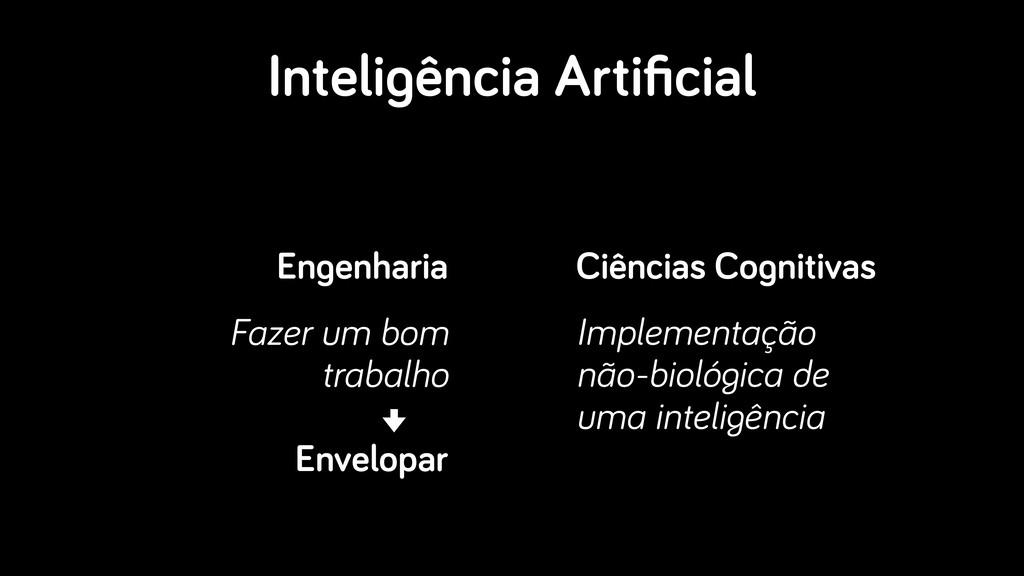 Inteligência Artificial Engenharia Fazer um bom ...