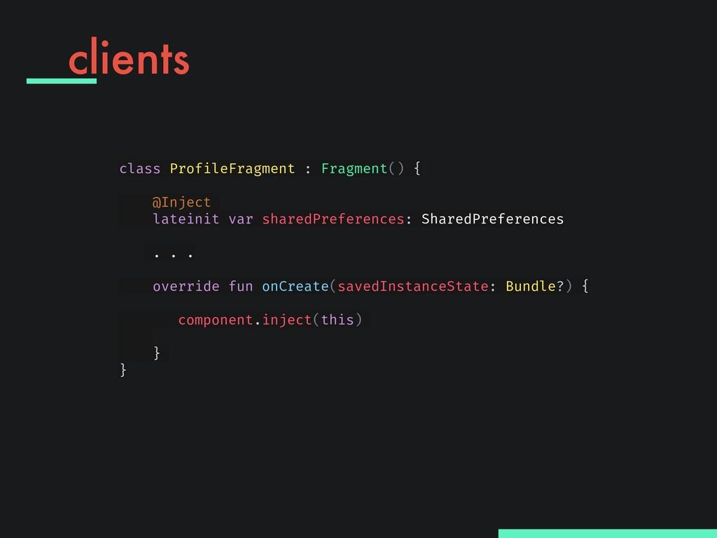 class ProfileFragment : Fragment() { @Inject l...