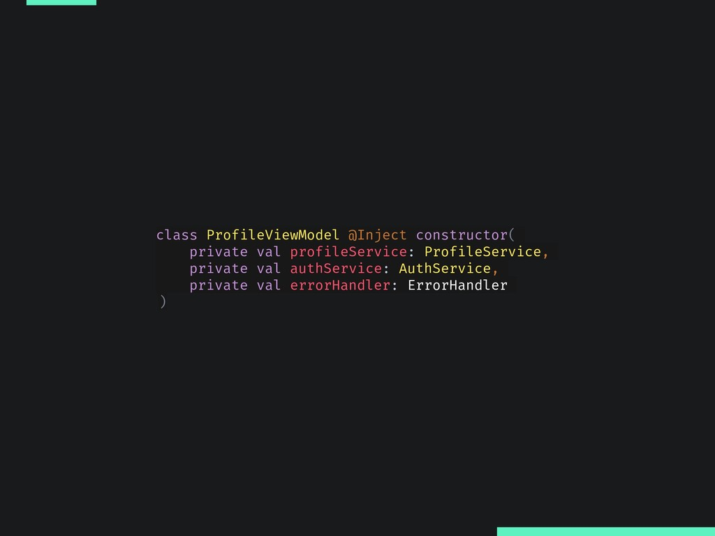 class ProfileViewModel @Inject constructor( pri...