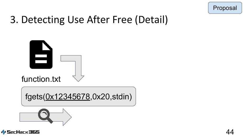 3. Detecting Use After Free (Detail) 44 functio...