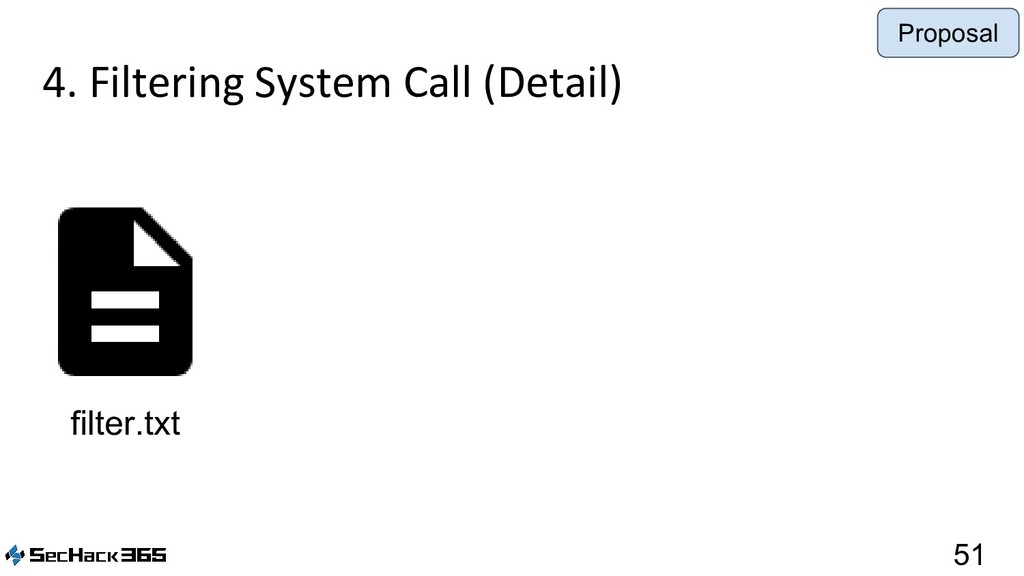 4. Filtering System Call (Detail) 51 filter.txt...