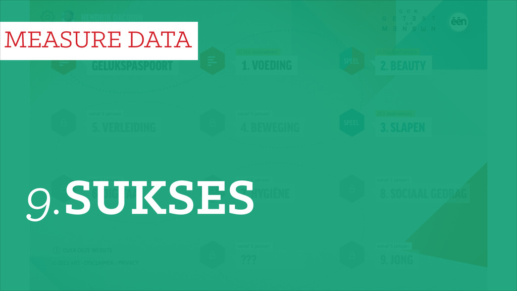 9.SUKSES MEASURE DATA