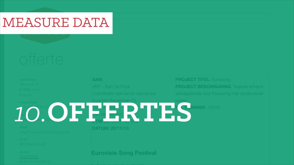 10.OFFERTES MEASURE DATA