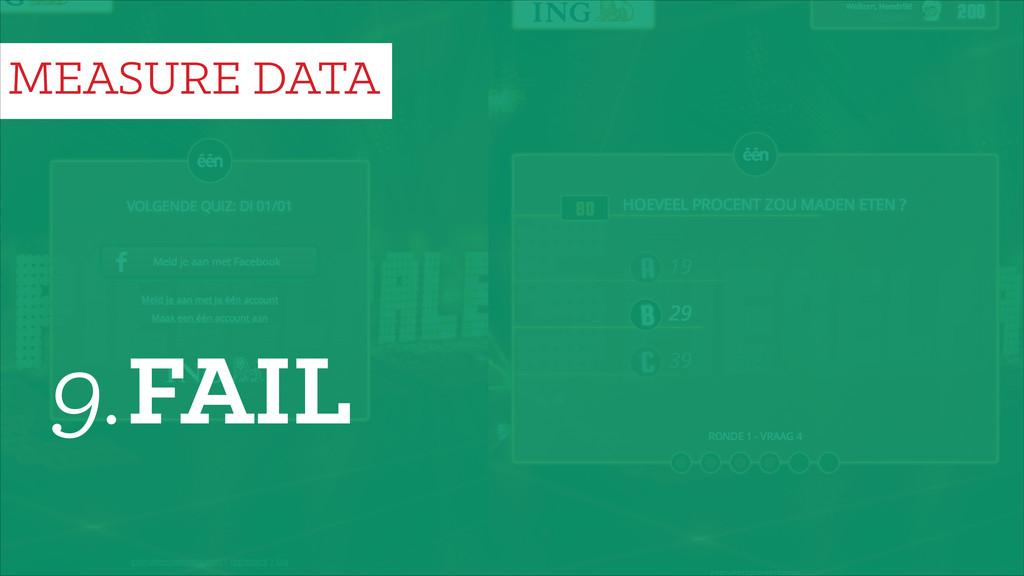 9.FAIL MEASURE DATA