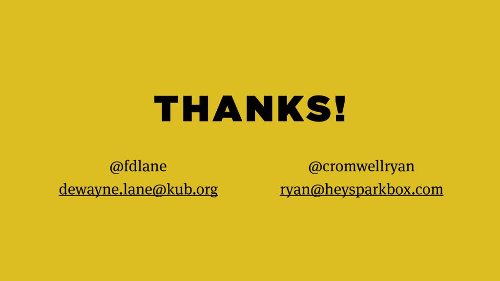 THANKS! @fdlane dewayne.lane@kub.org @cromwellr...