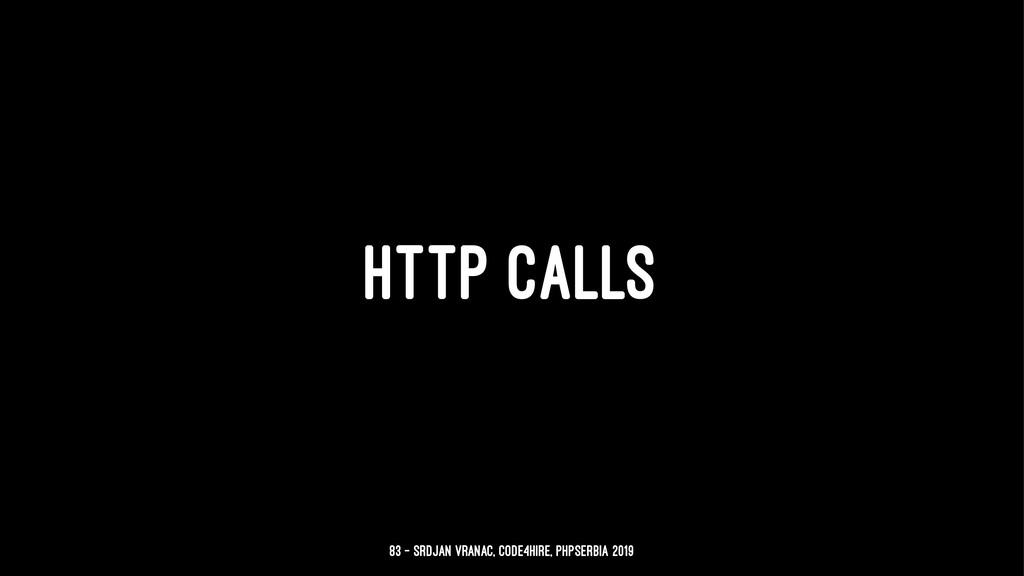 HTTP CALLS 83 — Srdjan Vranac, Code4Hire, PHPSe...