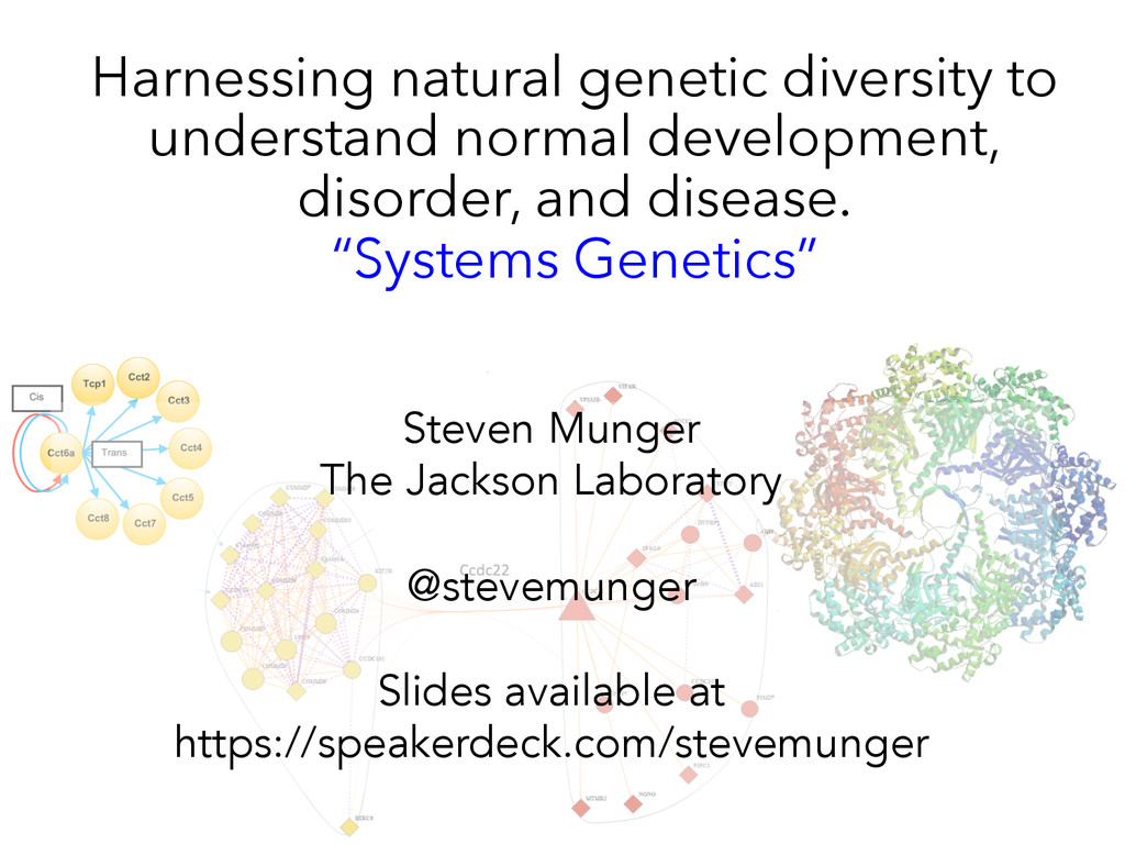Harnessing natural genetic diversity to underst...