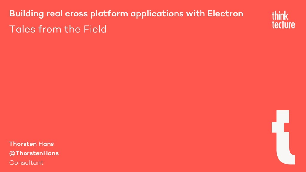 Building real cross platform applications with ...