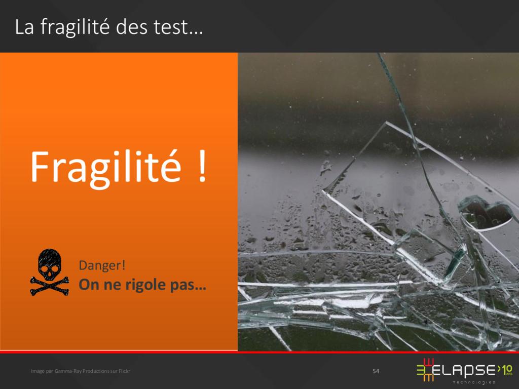 Fragilité ! Image par Gamma-Ray Productions sur...