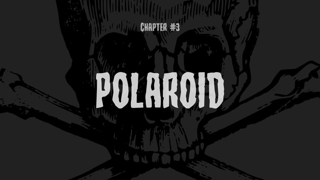 ChaptEr #3 POLAROID