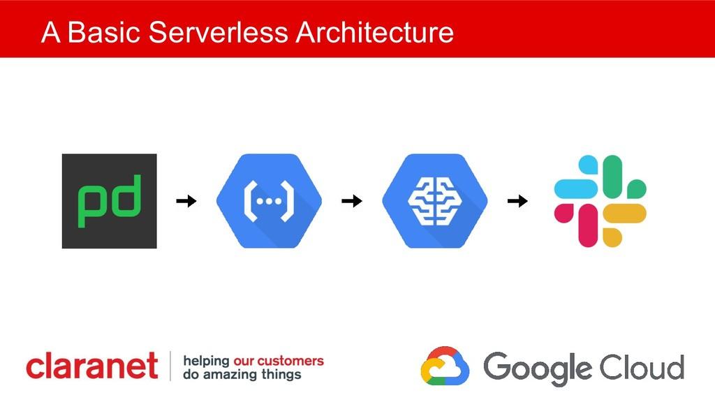 A Basic Serverless Architecture