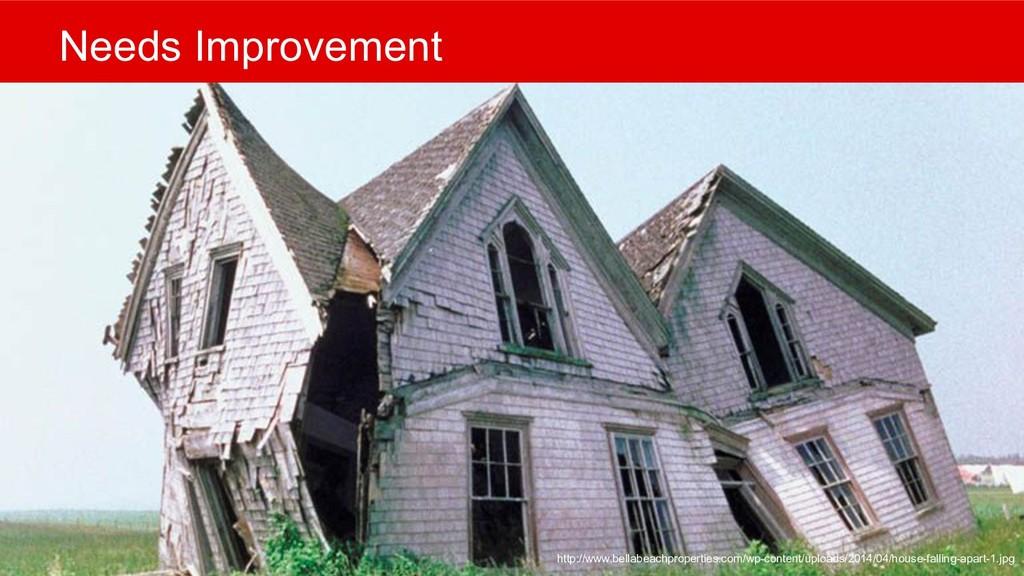 Needs Improvement http://www.bellabeachproperti...