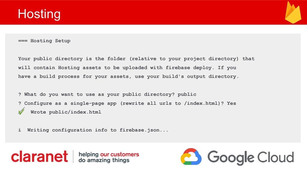 Hosting === Hosting Setup Your public directory...
