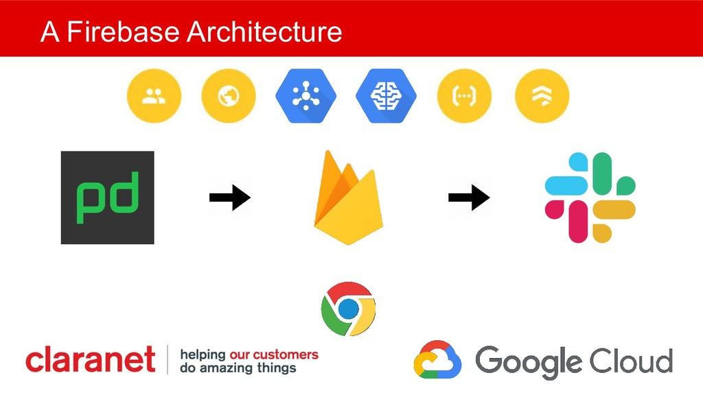 A Firebase Architecture