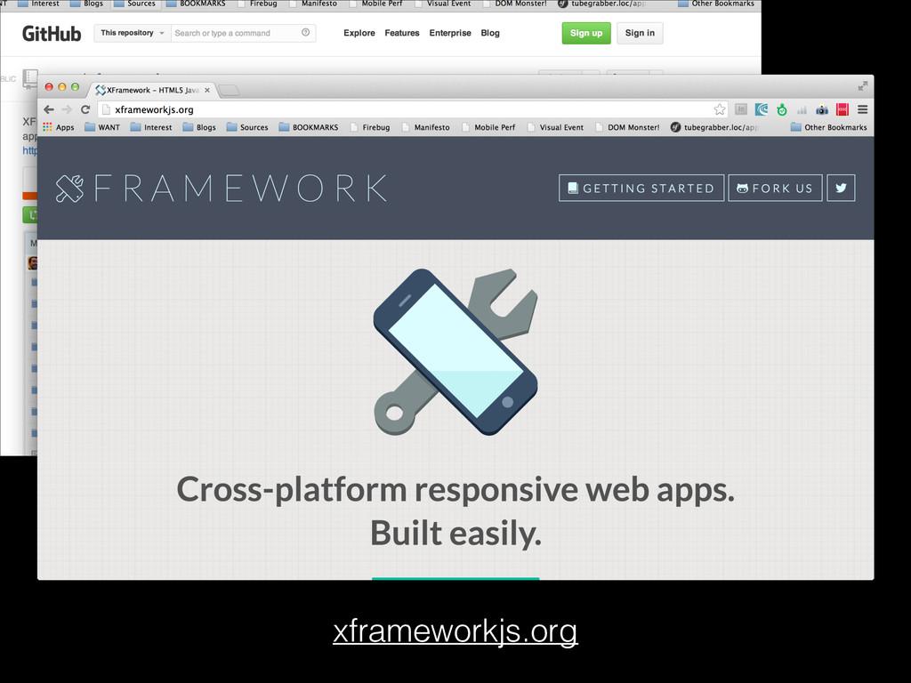 xframeworkjs.org