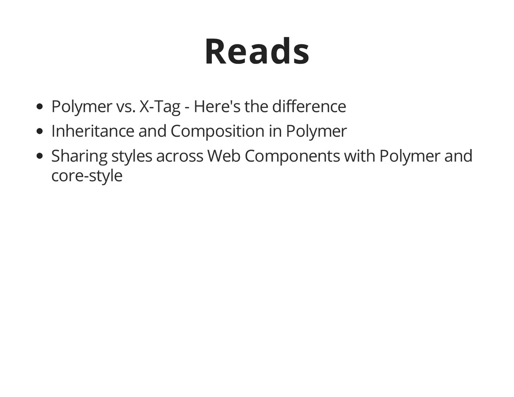 Reads Polymer vs. X-Tag - Here's the difference...