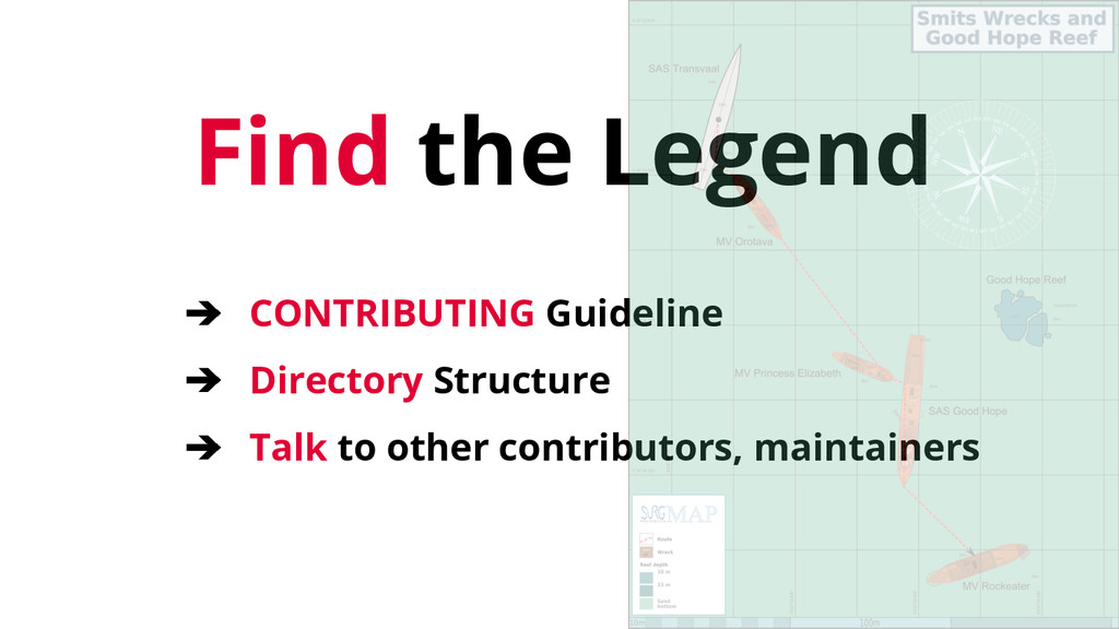 Find the Legend ➔ CONTRIBUTING Guideline ➔ Dire...