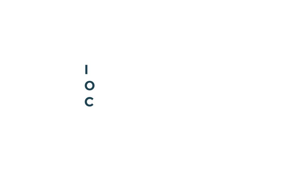 I O C