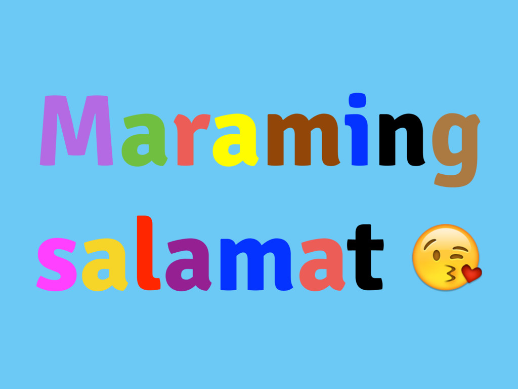 Maraming salamat