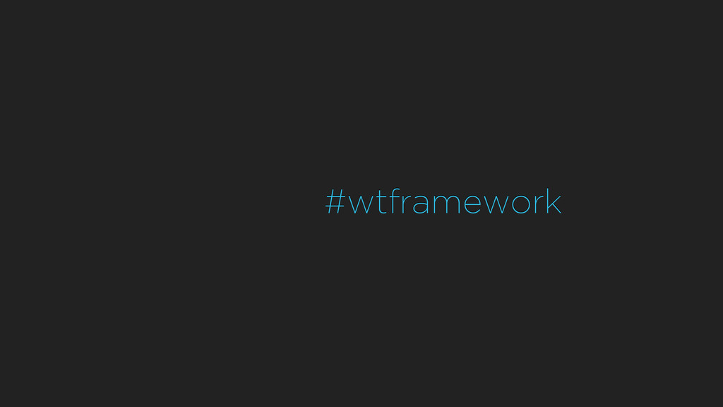 #wtframework