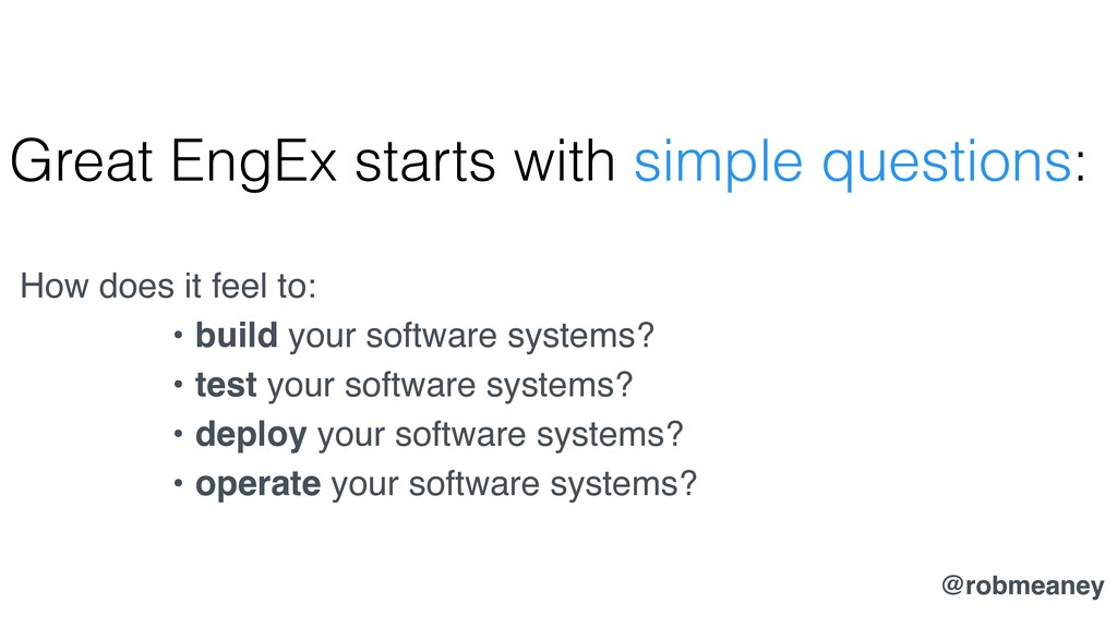 Great EngEx starts with simple questions: How d...
