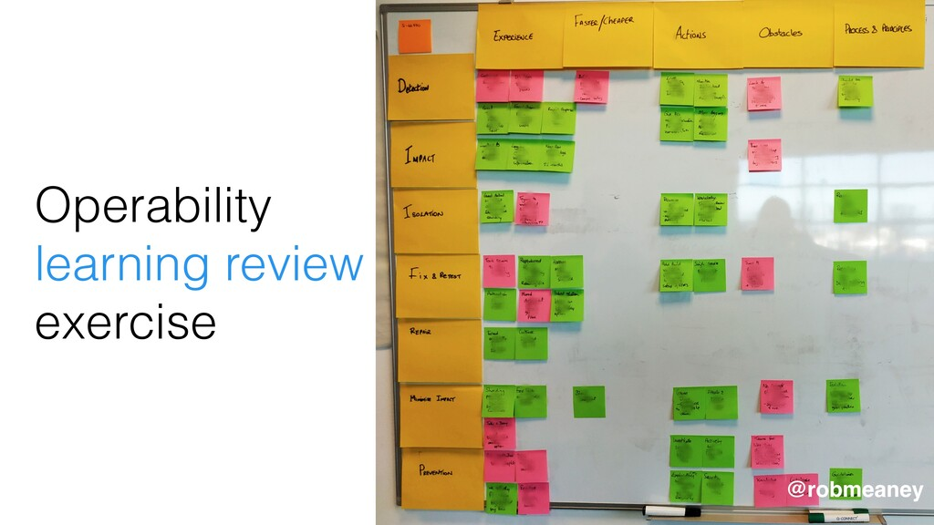 Operability learning review exercise @robmeaney...