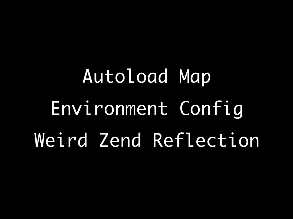 Autoload Map
