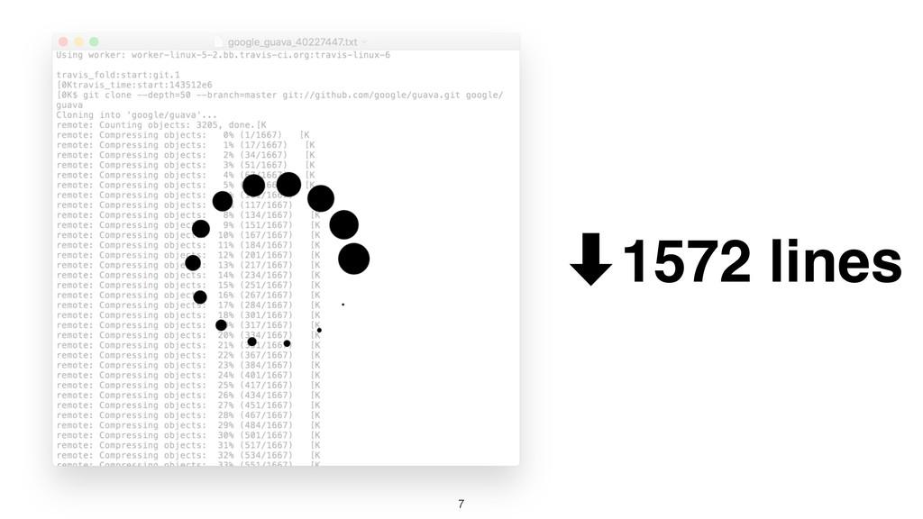 7 ‑1572 lines