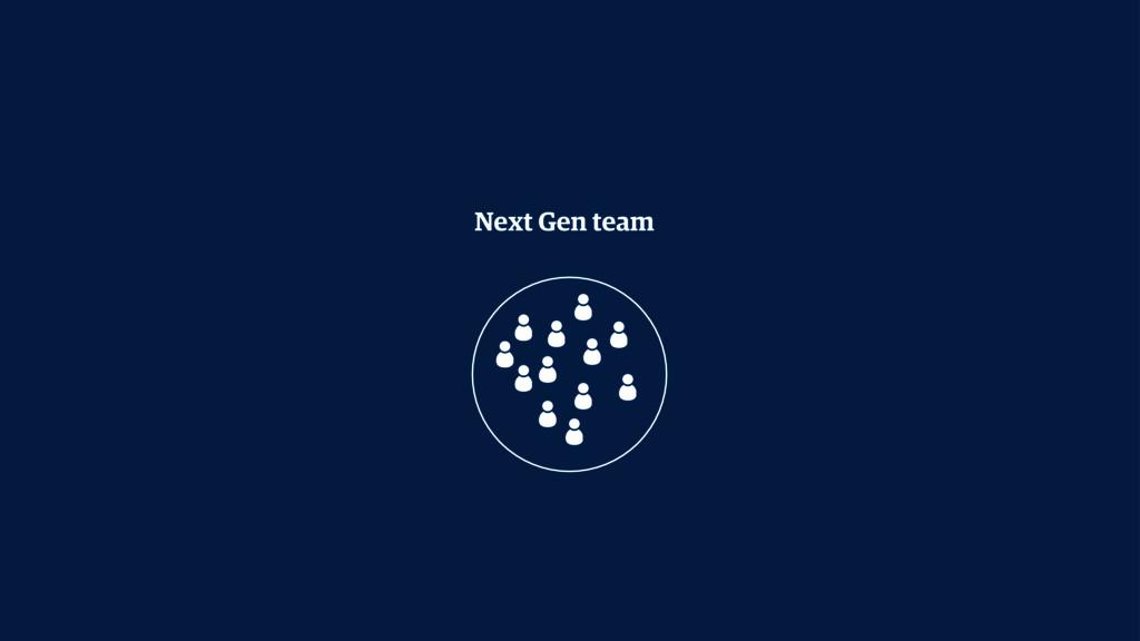 Next Gen team