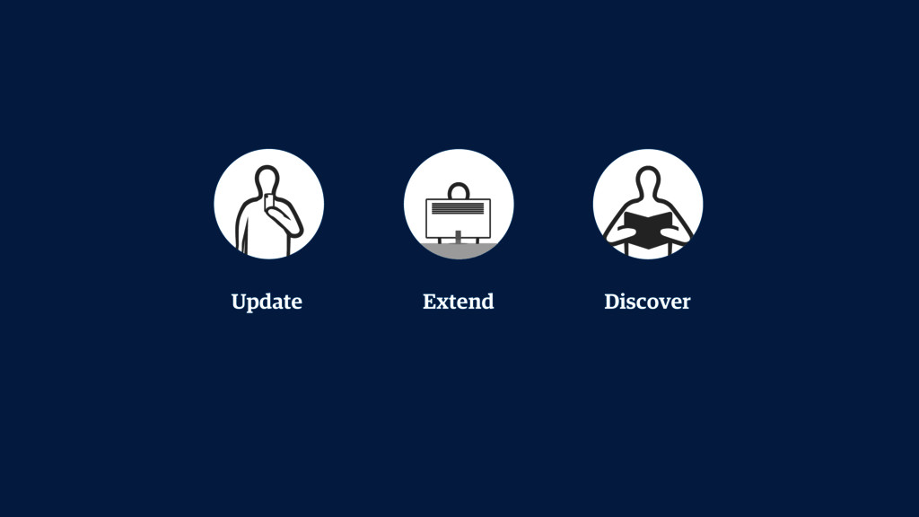 Update Extend Discover