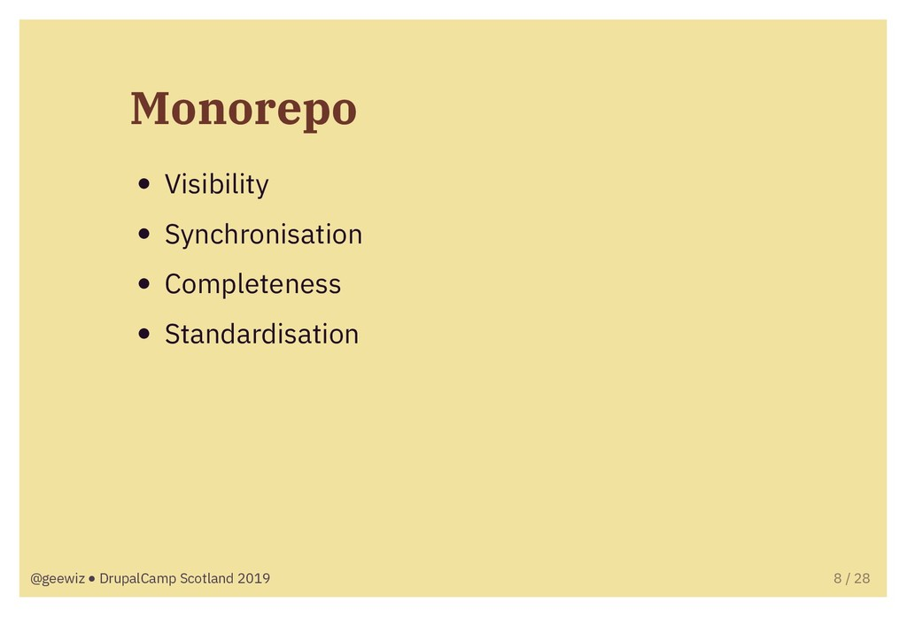 Monorepo Visibility Synchronisation Completenes...
