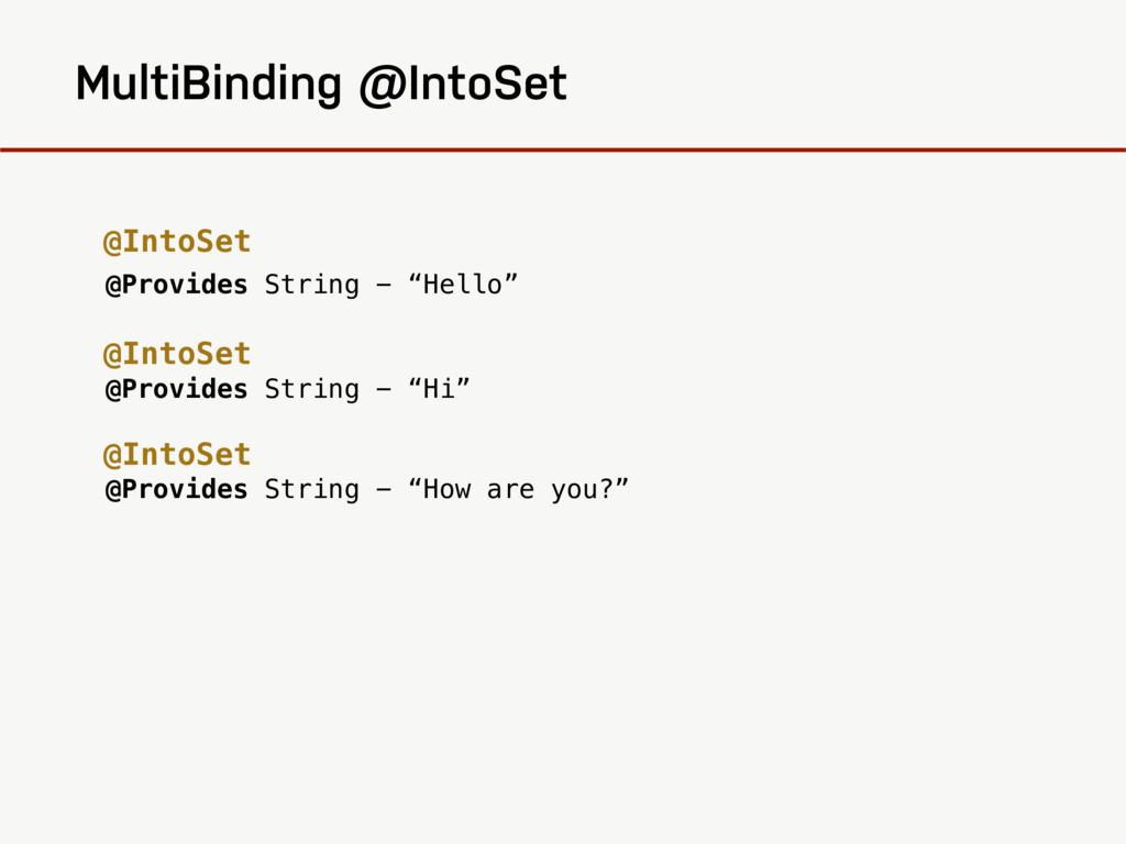 "@Provides String - ""Hello"" @Provides String - ""..."