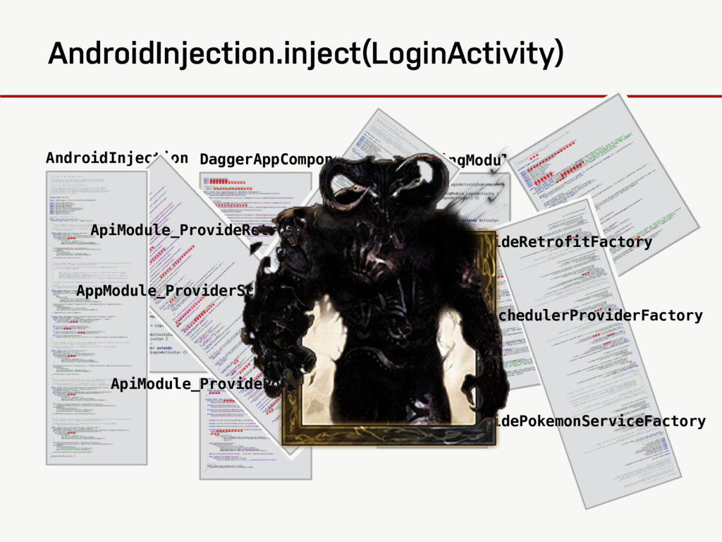 AndroidInjection.inject(LoginActivity) AndroidI...