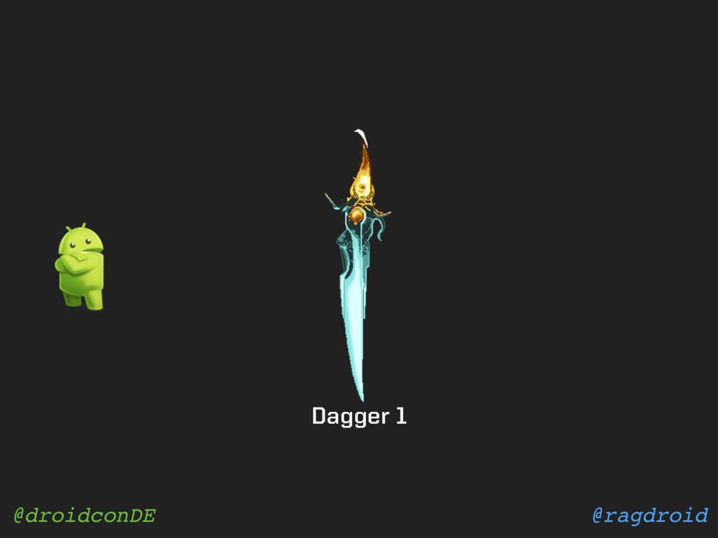 @ragdroid @droidconDE Dagger 1