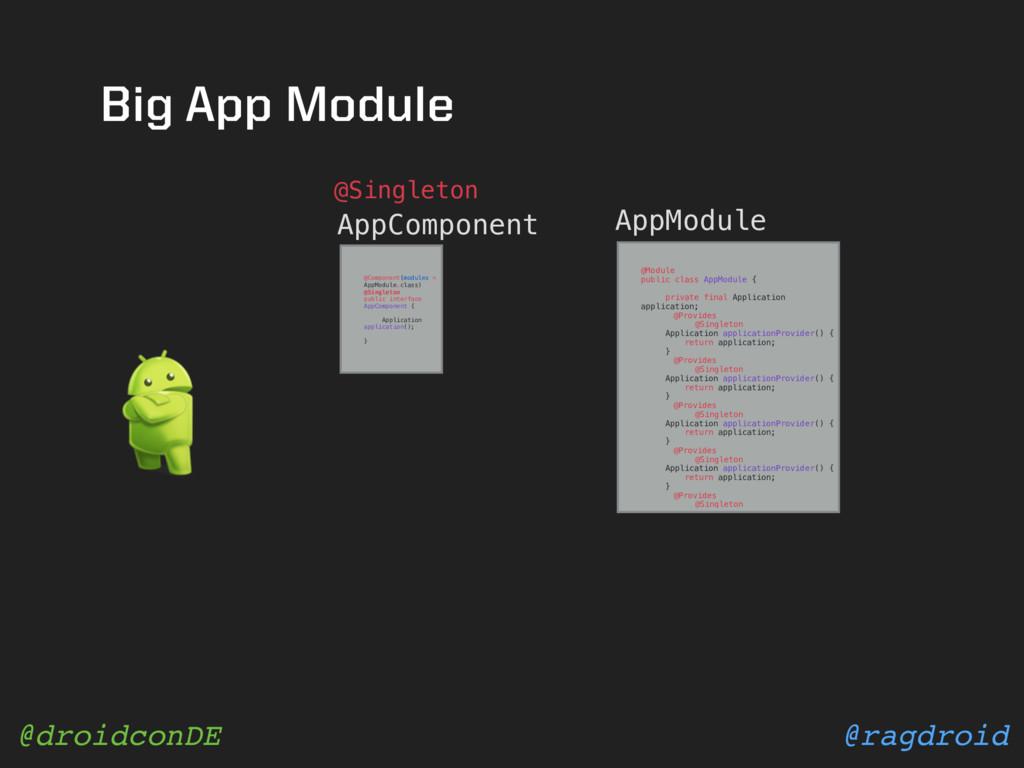 @ragdroid @droidconDE Big App Module AppCompone...
