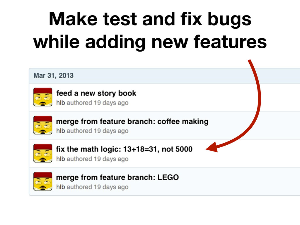 Make test and fix bugs while adding new features